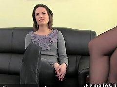 Amateur Babe Anal Threesome Casting amateur sex