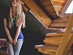 Pretty Blonde Teen Anjelica Finger Fucks Until She Squirts amateur sex