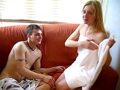 Horny Military Guy Trying His Best To Fuck A Teen While On Leave. amateur sex