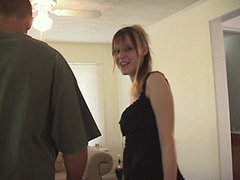 Amazing Young Creature Asks Her Seducer To Be As Kind With Her, When Fucking, As He Can. amateur sex
