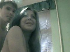 Tonight These Two Teens Decided To Test Out The Night Vision On Their Video Camera. As You Can See It Works Perfectly Because It`s Filming As This Tee amateur sex