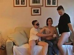 Wifey And Two Cocks amateur sex